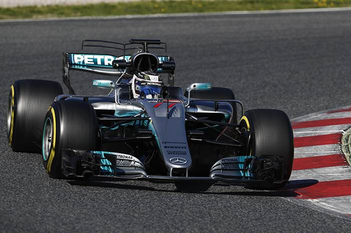 F1: Bottas quickest, Vettel/Ferrari star again in Barcelona test