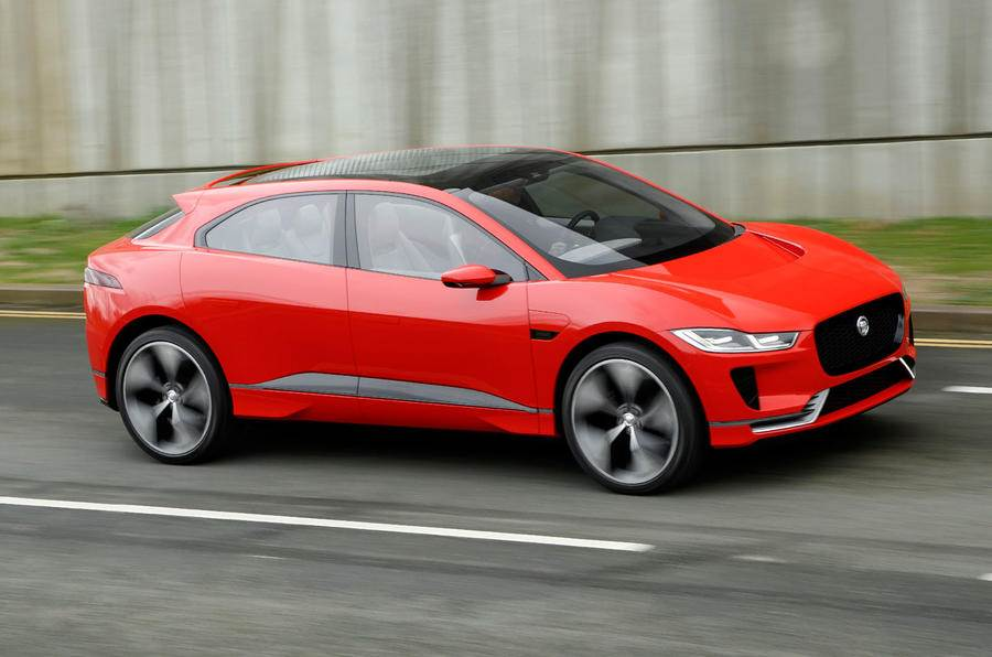 Jaguar I-Pace concept review, test drive