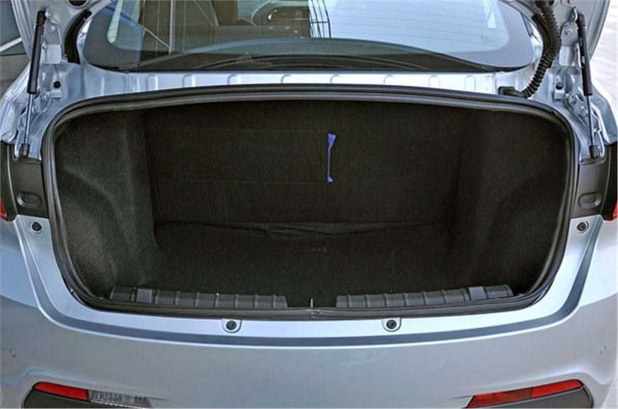 419-litre boot is spacious for a car of this class.