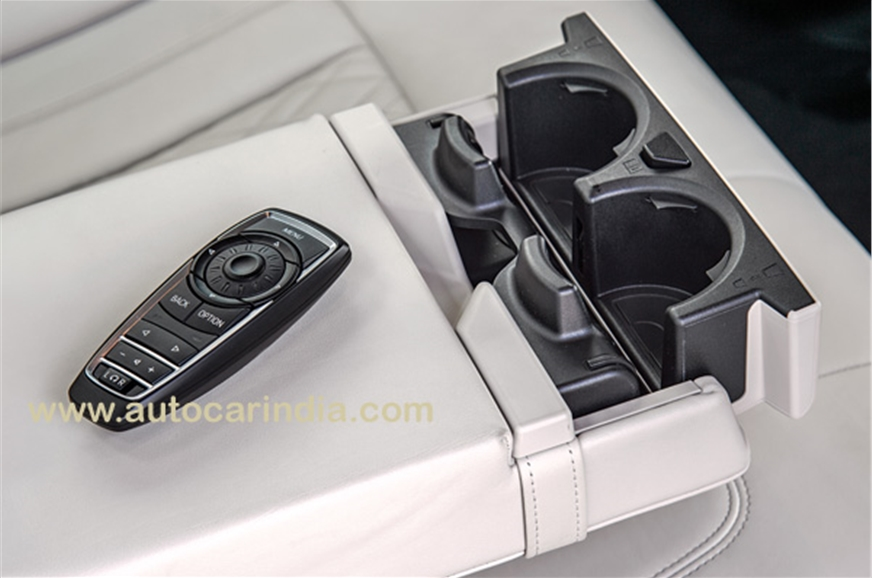 Remote for rear seat passengers is a nice touch.