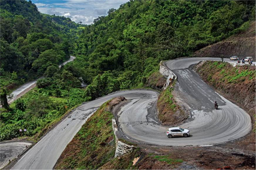 Sure Myanmar has a lot of bad roads, but when they're goo...
