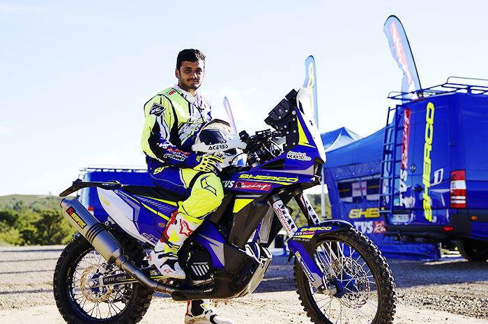 Aravind and Metge to lead TVS charge in Indian Baja