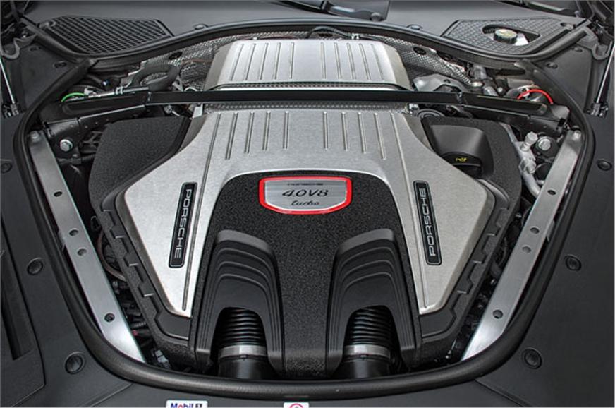 New 4.0-litre V8 develops 550hp.