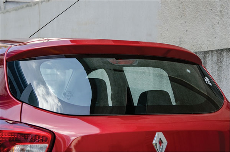 Rear wash-wipe a striking omission even on the top-spec R...