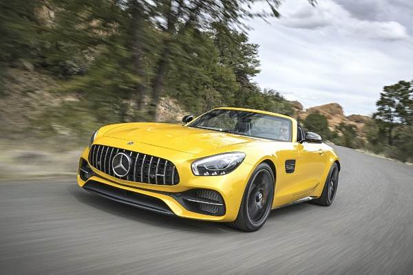2017 Mercedes-AMG GT C Roadster review, test drive