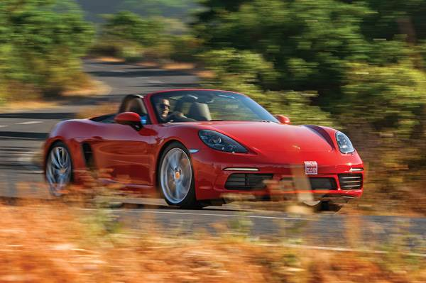2017 Porsche 718 Boxster review, test drive