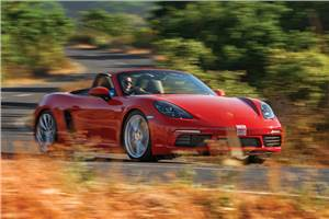 2017 Porsche 718 Boxster review, test drive