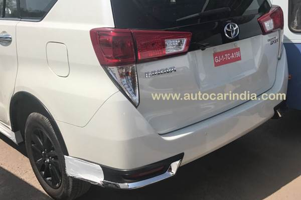 2017 Toyota Innova Crysta Touring Sport Specifications