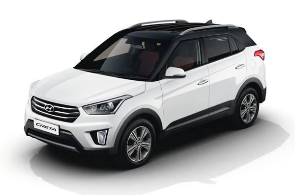 Hyundai I20 Reviews >> Hyundai Creta E+ diesel, SX+ dual tone launched - Autocar India