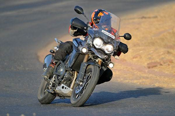 2014 Triumph 1200 Explorer XC review, test ride