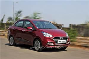 2017 Hyundai Xcent facelift review, test drive