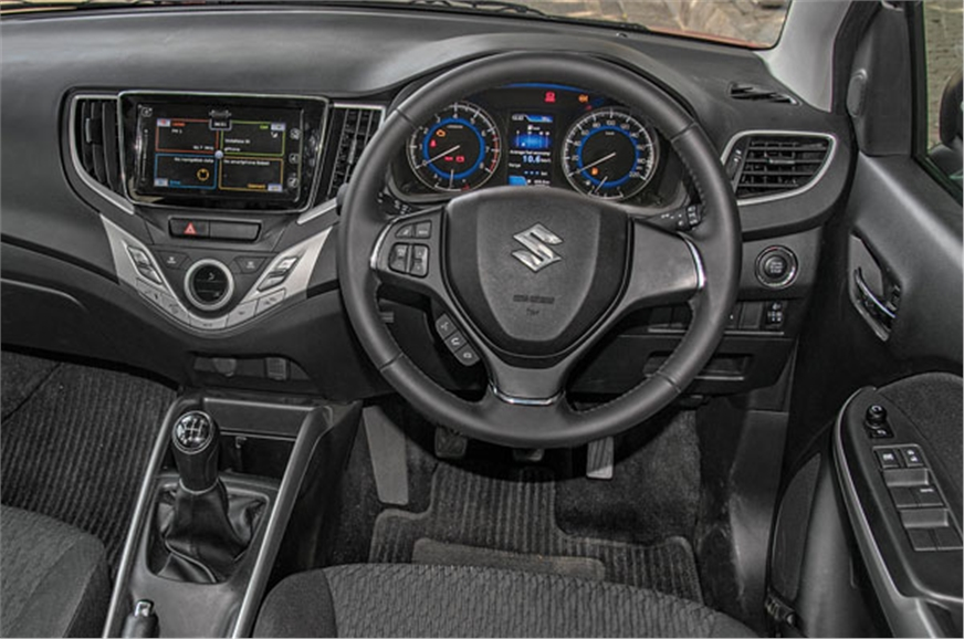 Baleno has the most practical interior with plenty of spa...