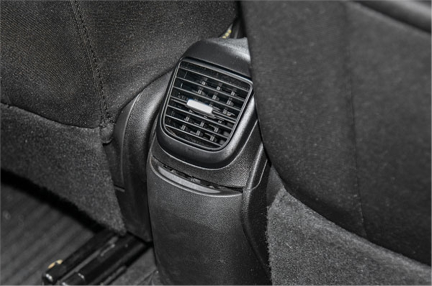 Punto is the only one with a rear AC vents.