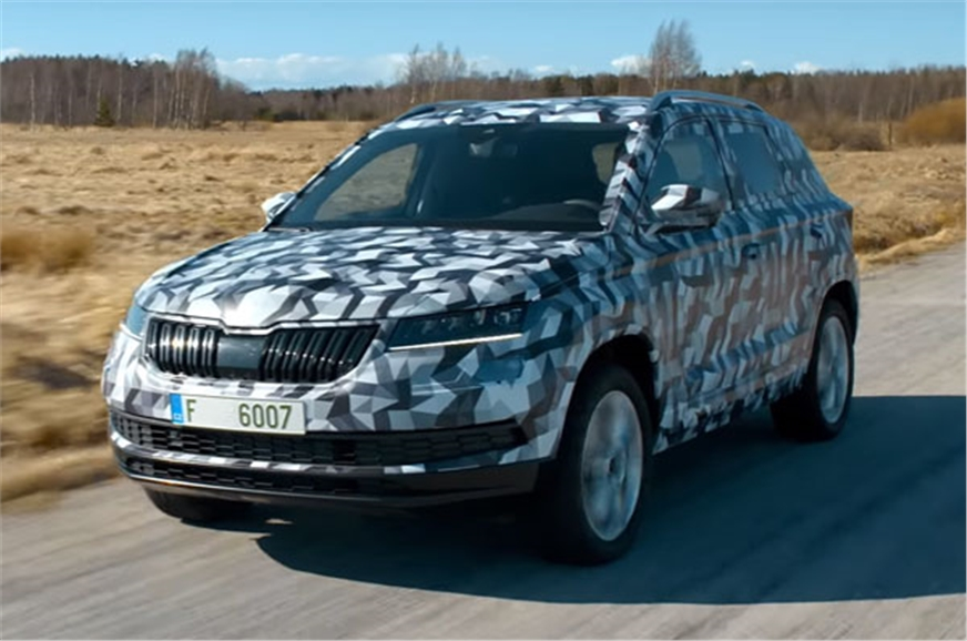 2017 skoda karoq suv specifications features launch date in india autocar india. Black Bedroom Furniture Sets. Home Design Ideas