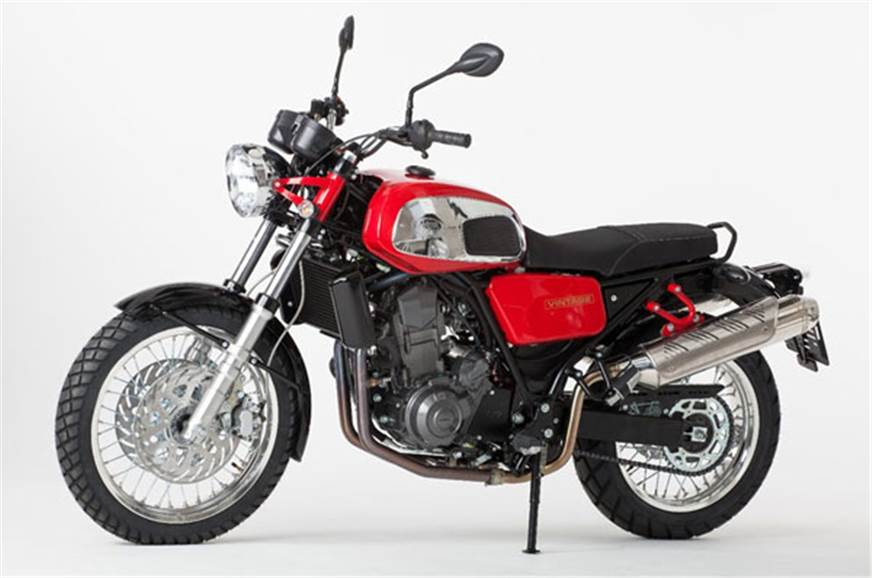 Jawa 660 Vintage.