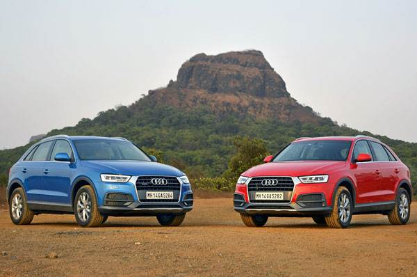2017 Audi Q3 facelift review, test drive