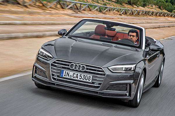 2017 Audi A5 Cabriolet review, test drive