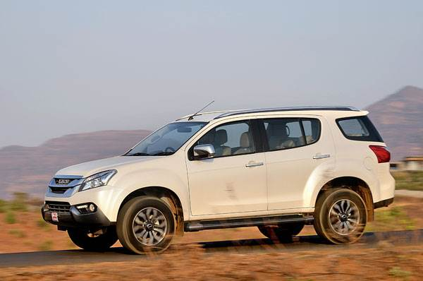 2017 Isuzu MU-X review, test drive