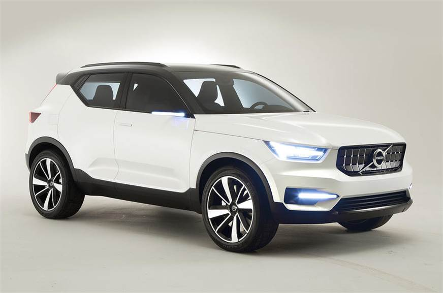 Volvo XC40 concept (for representation purpose only).