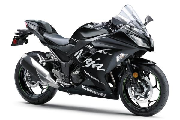 Kawasaki Ninja 300.