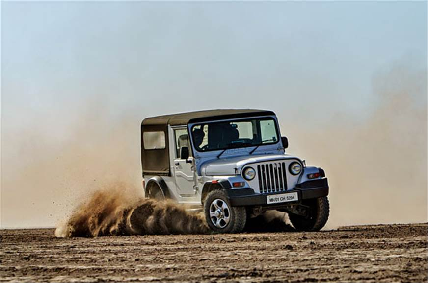 In the desert, you need a vehicle that will take the puni...