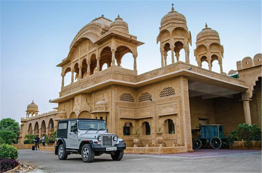 The Mahindra Thar is a true blue-blooded royal.