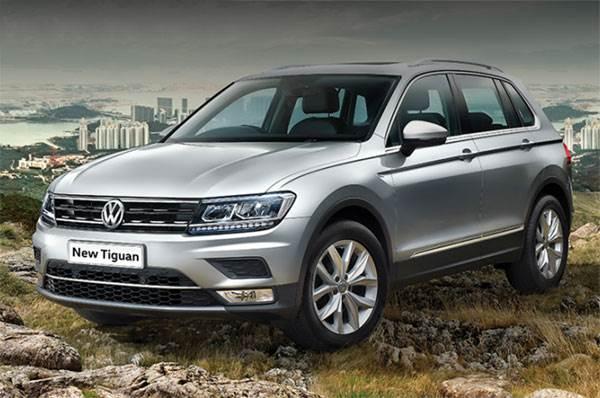 2017 Volkswagen Tiguan Prices Variants Equipment List