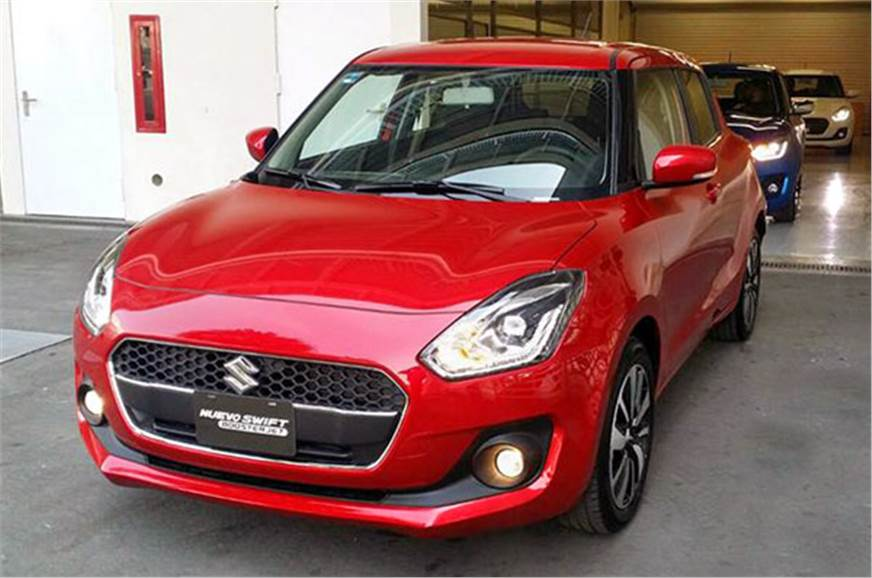 Suzuki Swift Boosterjet shown (for representational purpo...