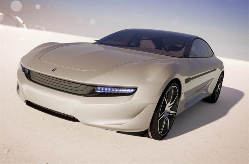 2012 Pininfarina Cambiano EV concept (for representation purpose only).