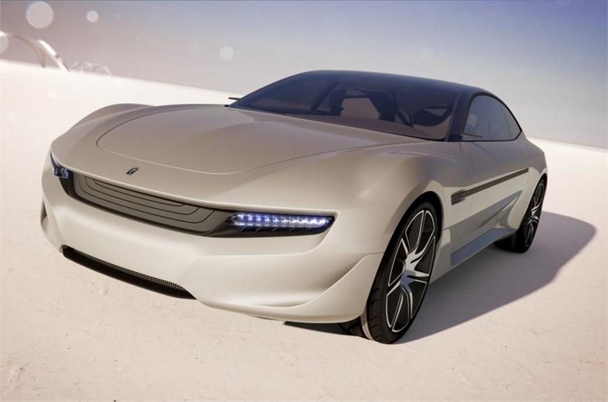 2012 Pininfarina Cambiano EV concept (for representation purpose only).