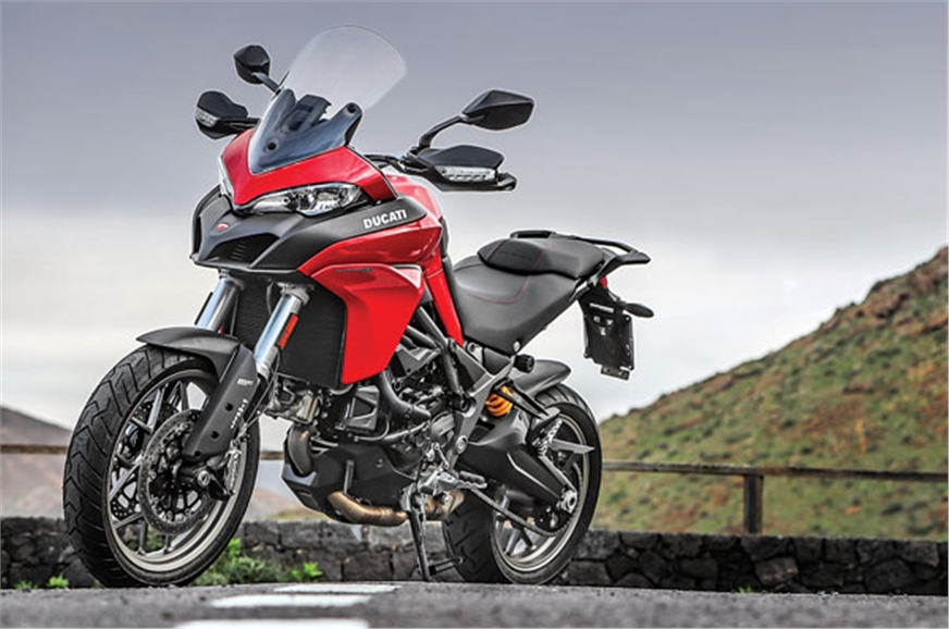 2017 ducati multistrada 950 review specifications details images autocar india. Black Bedroom Furniture Sets. Home Design Ideas