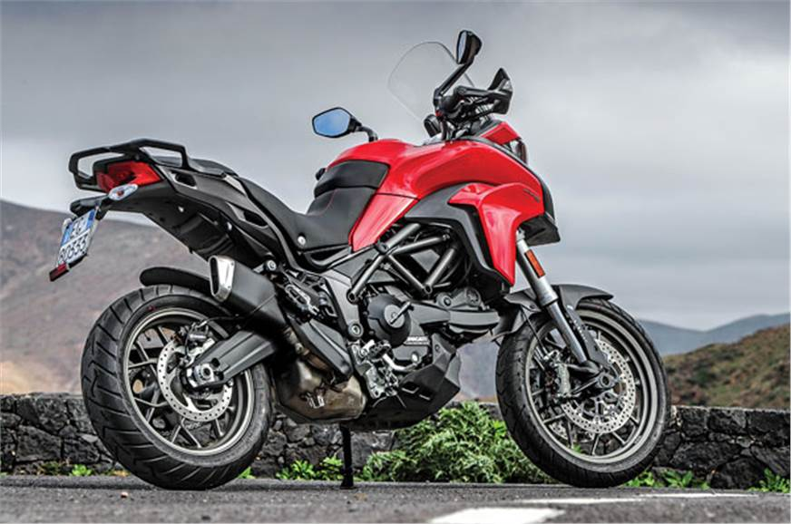 The Multistrada 950 can be kitted out with a host of acce...