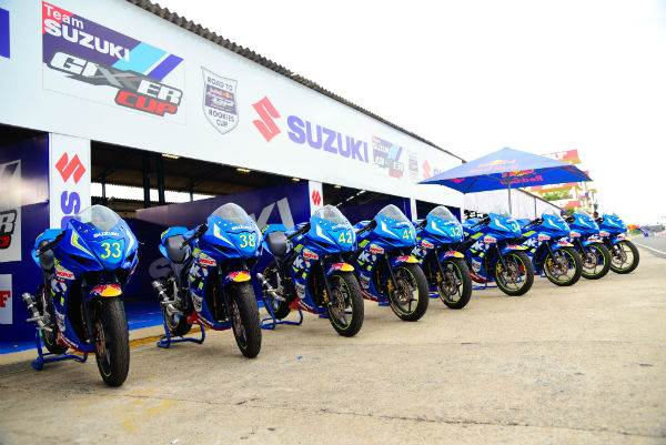 The Suzuki Gixxer steps into the JK National Racing Championship fold for 2017.