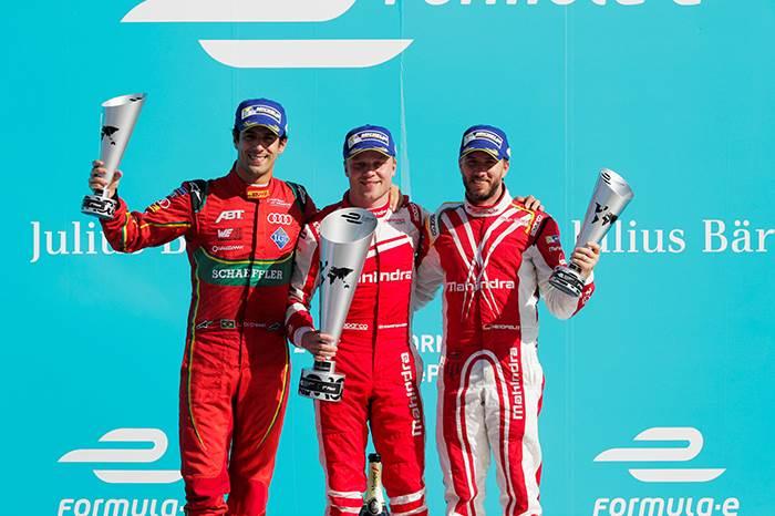Mahindra takes maiden Formula E win in Berlin