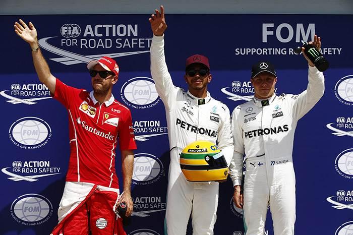 Canadian GP: Hamilton flies to pole ahead of Vettel