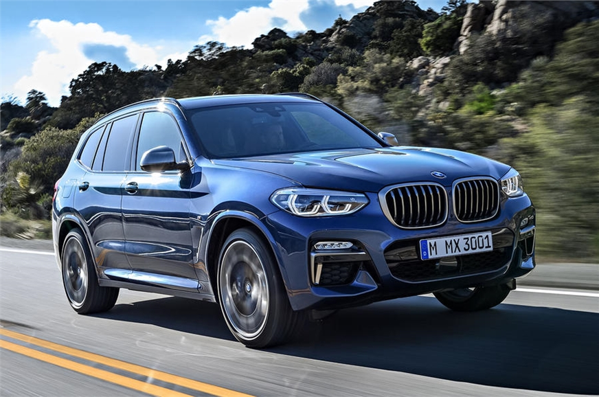 2018 bmw x3 specs features interior image autocar. Black Bedroom Furniture Sets. Home Design Ideas