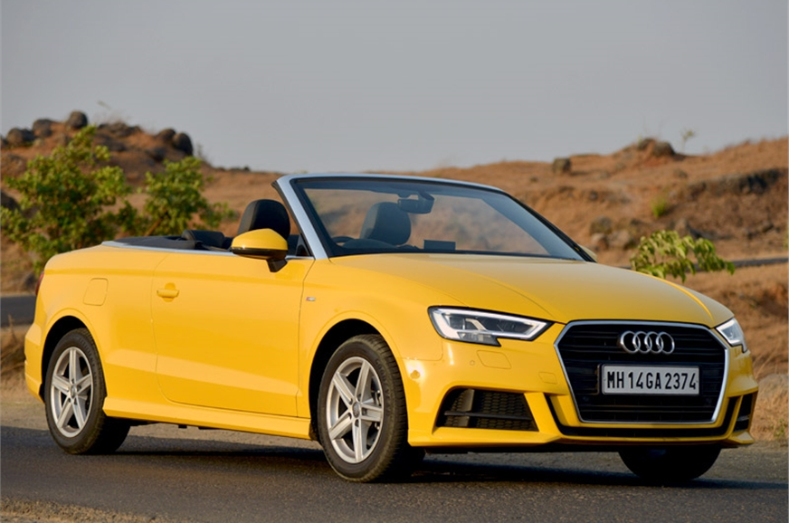 2017 audi a3 cabriolet review interior equipment specifications autocar india. Black Bedroom Furniture Sets. Home Design Ideas