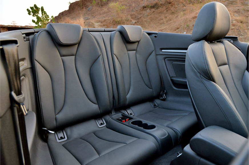 Tiny rear seats are better than none.