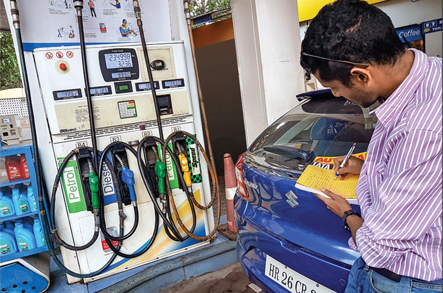 Frugal petrol engine means refill stops were few and far ...