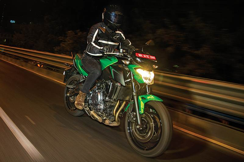 2017 Kawasaki Z650 review, test ride