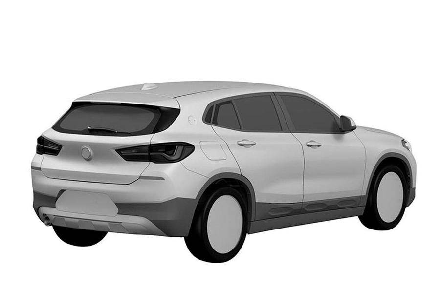 Bmw X2 Patent Drawings Reveal Final Design Autocar India