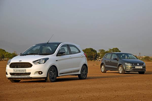 2017 Ford Figo Sports vs Volkswagen Polo GT TDI comparison