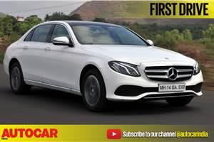 2017 Mercedes-Benz E 220d video review