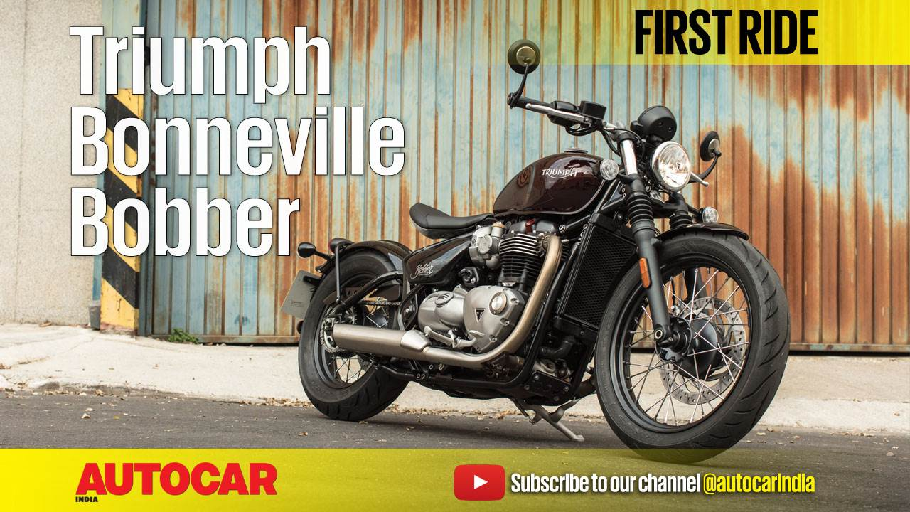 2017 Triumph Bobber first ride video review