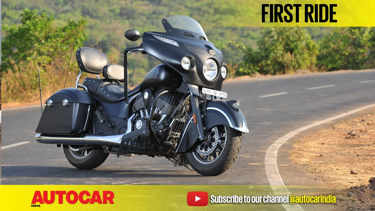 2017 Indian Chieftain Dark Horse video review