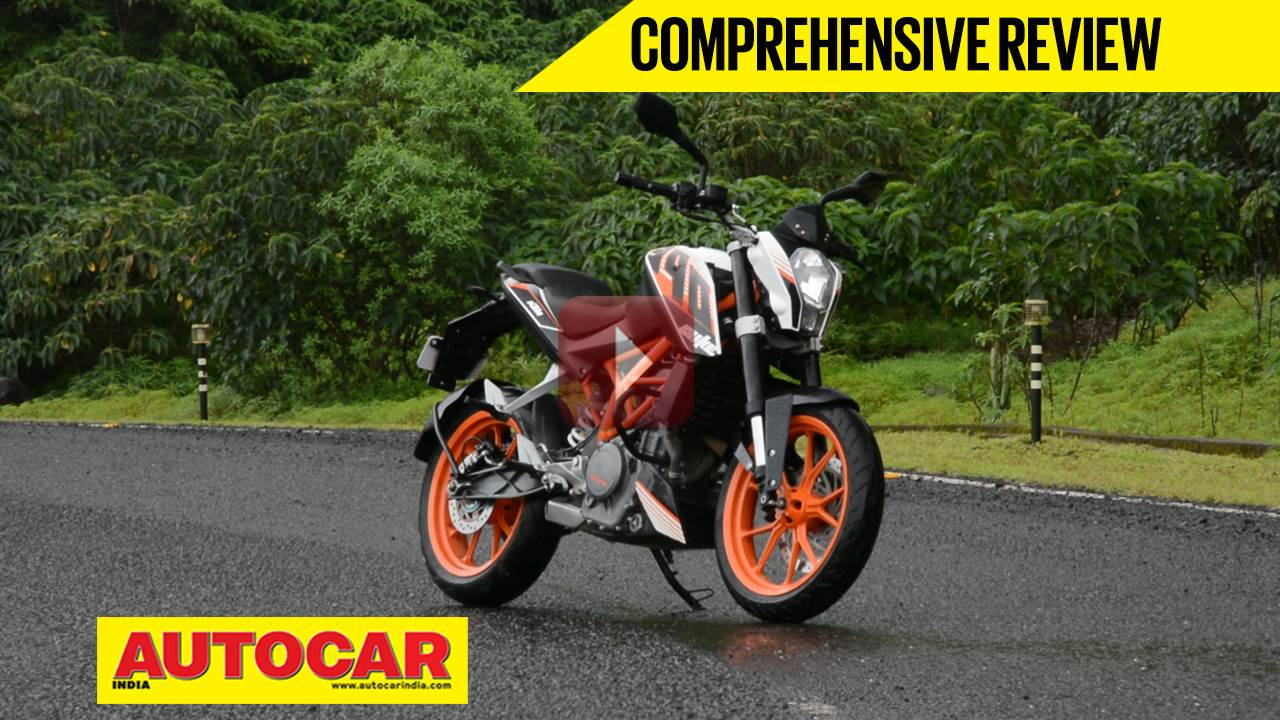 KTM 390 Duke video review