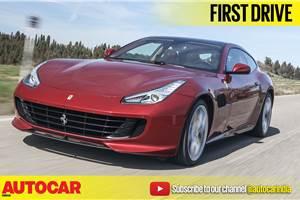 2017 Ferrari GTC4Lusso T video review