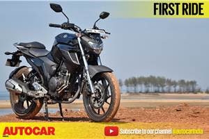 2017 Yamaha FZ25 video review