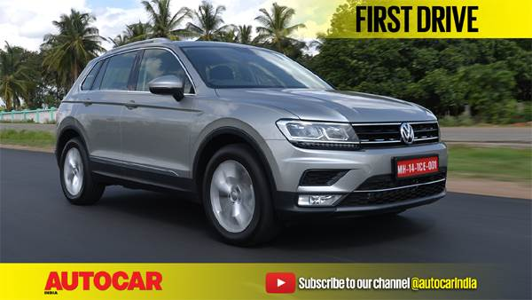 2017 Volkswagen Tiguan India video review