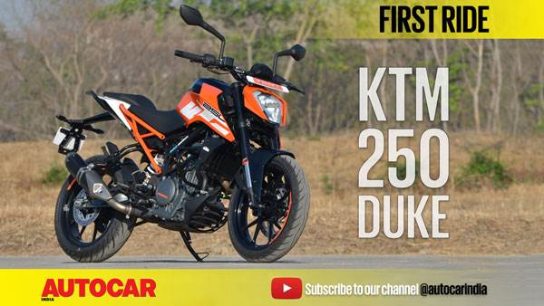 2017 KTM Duke 250 video review
